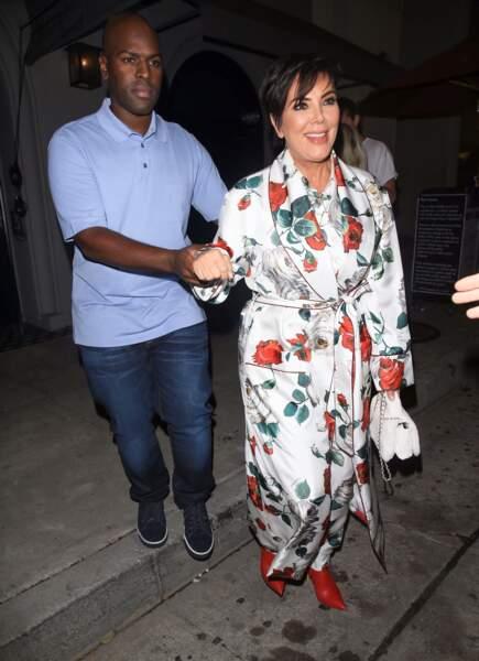 25 années séparent Kris Jenner (62 ans) de son compagnon Corey Gamble