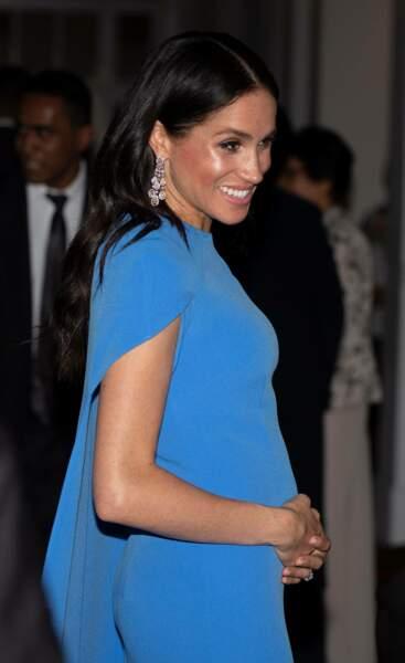 Meghan Markle seulement enceinte de 3 mois ?