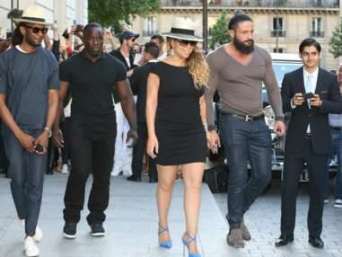 Gala.fr - Arrivée de Mariah Carey à Paris