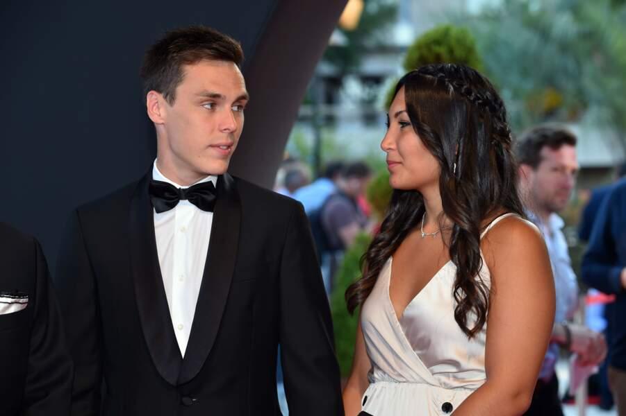 Louis Ducruet et sa fiancée Marie Chevallier - Clôture du 57ème Festival de télévision de Monte-Carlo