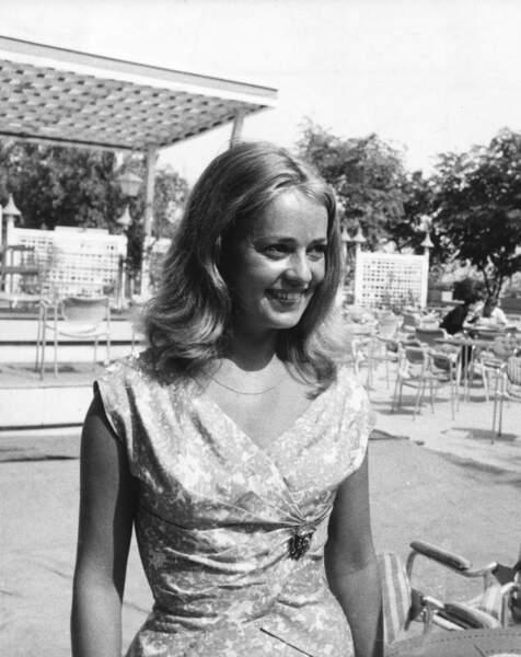 Au festival du film de Venise en 1958