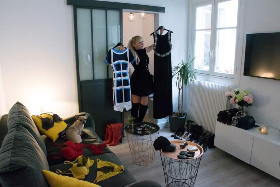 Virginie Carrozza aime porter des tenues de soirée même la journée