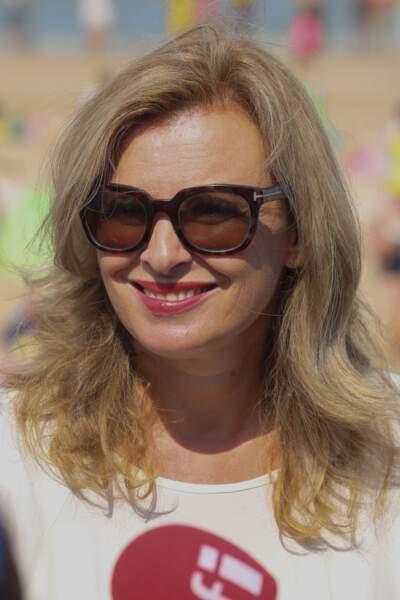 Valérie Trierweiler participe à l'opération du Secours Populaire