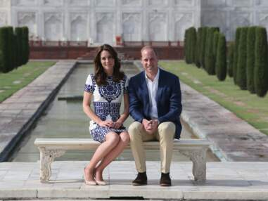 Le Prince William sur les traces de ses parents Diana et Charles en Inde
