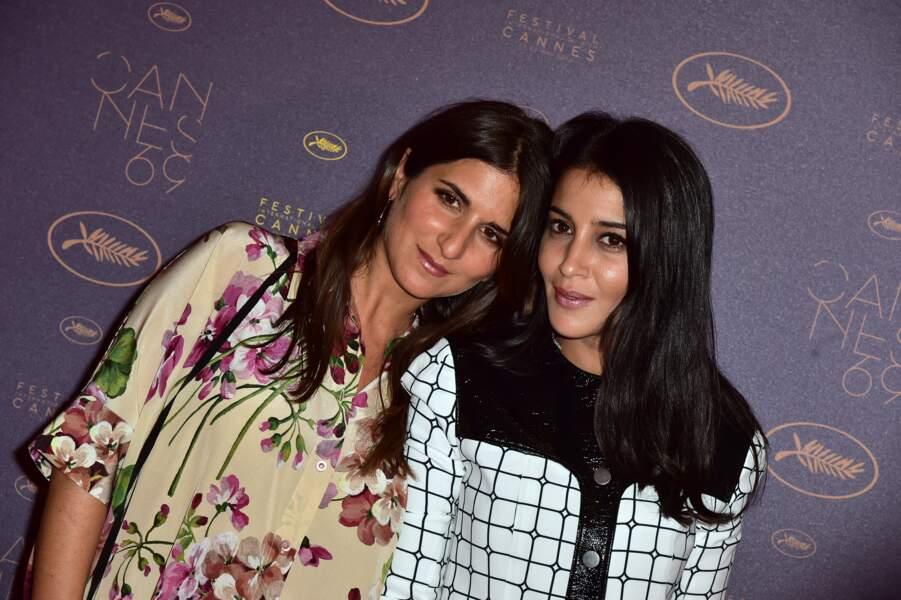 Leïla Bekhti et Géraldine Nakache au Festival de Cannes en 2016