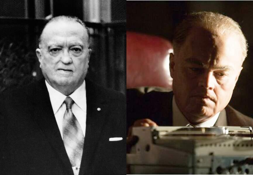 Leonardo Dicaprio incarne J.Edgar Hoover