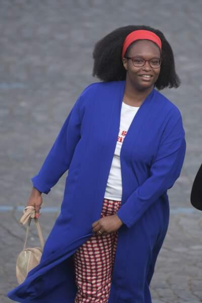 Pour ce jour de Fête Nationale, Sibeth Ndiaye a misé sur un look pour le moins décontracté