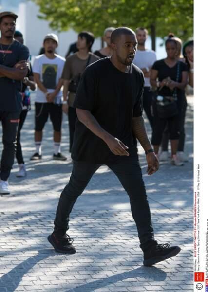 NEW YORK, NY Defilé Kanye West 7 Septembre 2016