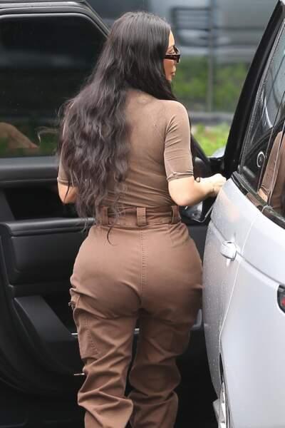 Le cultissime fessier de Kim Kardashian