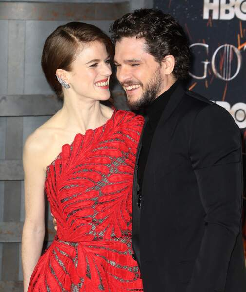 Rose Leslie et son mari Kit Harington le couple le plus cute de la série
