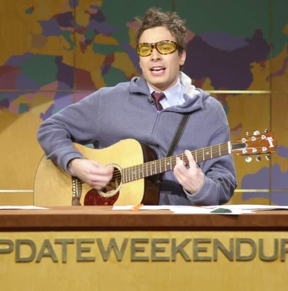 Jimmy Fallon sévissait au Saturday Night Live avant de décrocher son propre show