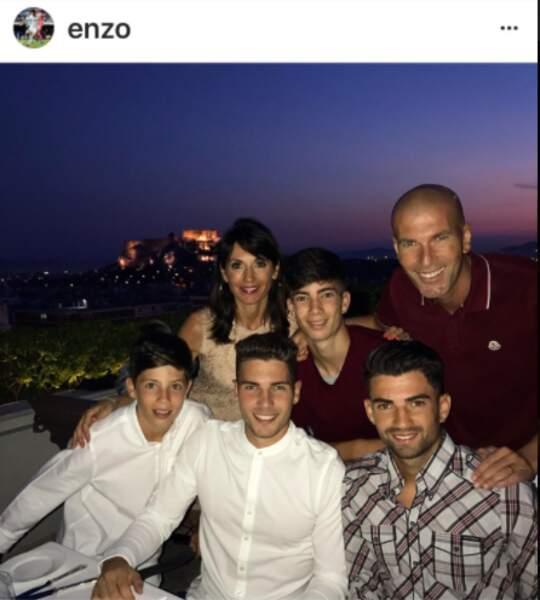 La famille Zidane