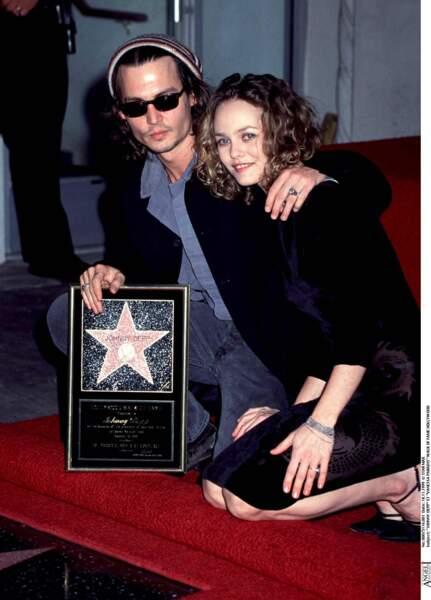 Johnny Depp et Vanessa Paradis à Hollywood