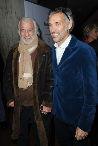 Jean-Paul Belmondo et son fils Paul Belmondo