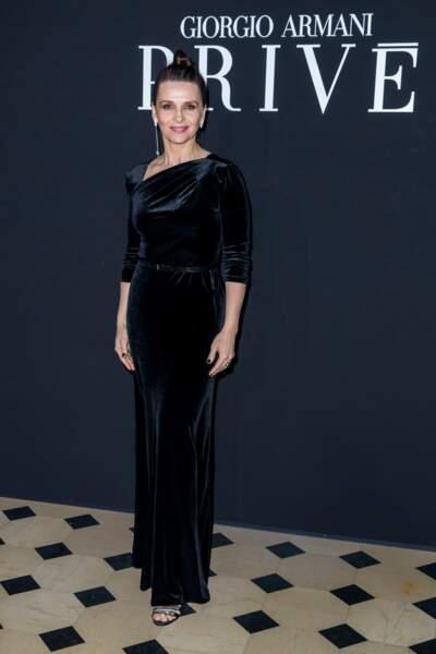 Juliette Binoche à Paris le 22 janvier 2019