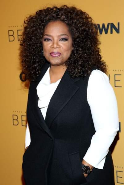 Oprah Winfrey porte avec fierté son nappy hair.