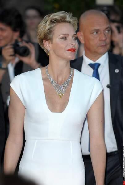 Charlène de Monaco rayonnante au festival TV de Monte Carlo