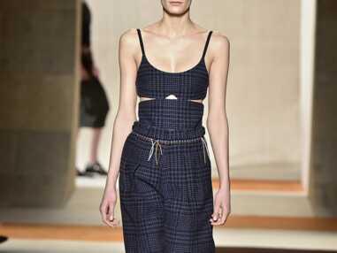 Fashion Week: Victoria Beckham, mix and match d'imprimés