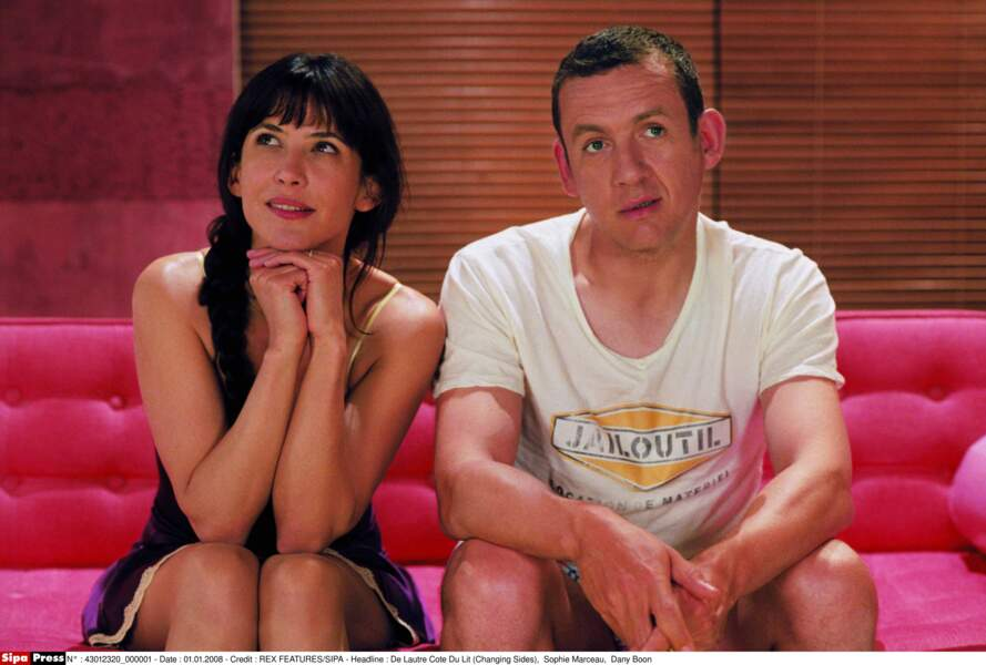 En 2008, avec Sophie Marceau dans De Lautre Cote Du Lit