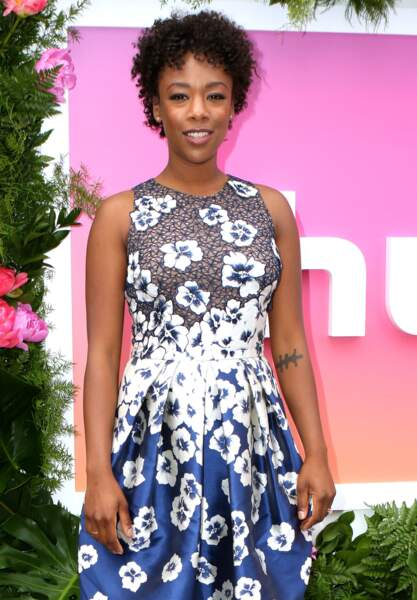 Samira Wiley et sa coupe afro courte.