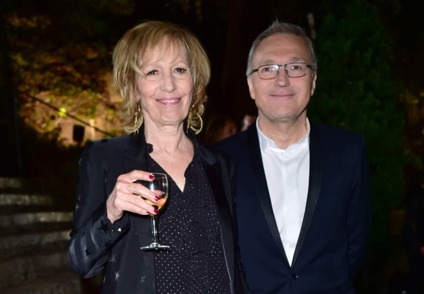 Catherine Barma et Laurent Ruquier