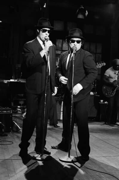 Le duo des Blues Brothers a été créé en 1977 dans l'émission par John Belushi et Dan Aycroyd