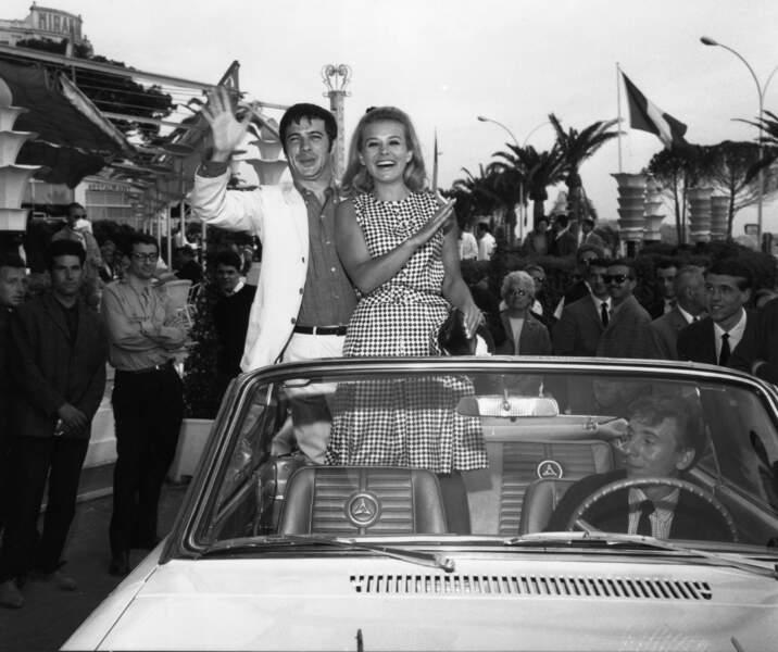 Sophie Daumier et Guy Bedos en 1964