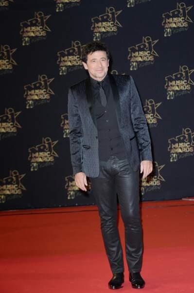 Patrick Bruel lors de la 20e cérémonie des NRJ Music Awards à Cannes, le 10 novembre 2018