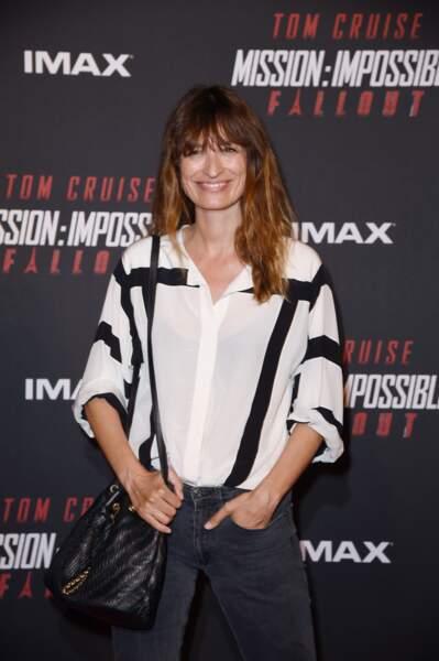 """Caroline de Maigret lors de l'avant-première mondiale de """"Mission : Impossible Fallout"""" à Paris."""