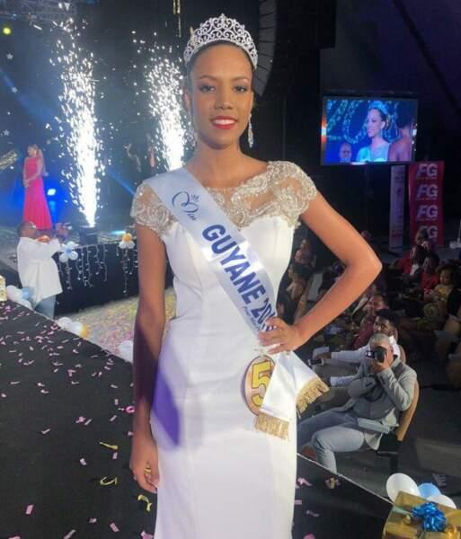 Laureline Decocq, 18 ans, a été sacrée Miss Guyane et tentera de devenir Miss France 2019