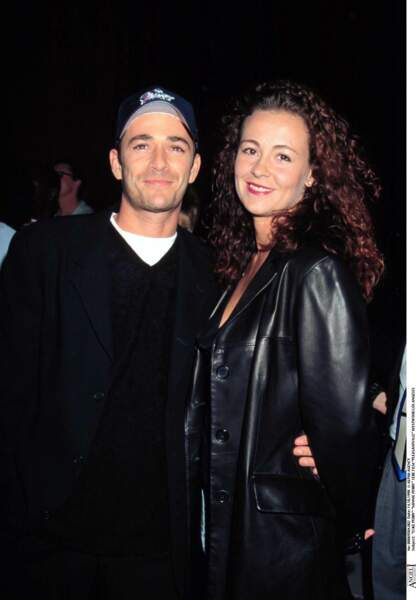 Luke Perry et Minnie Perry