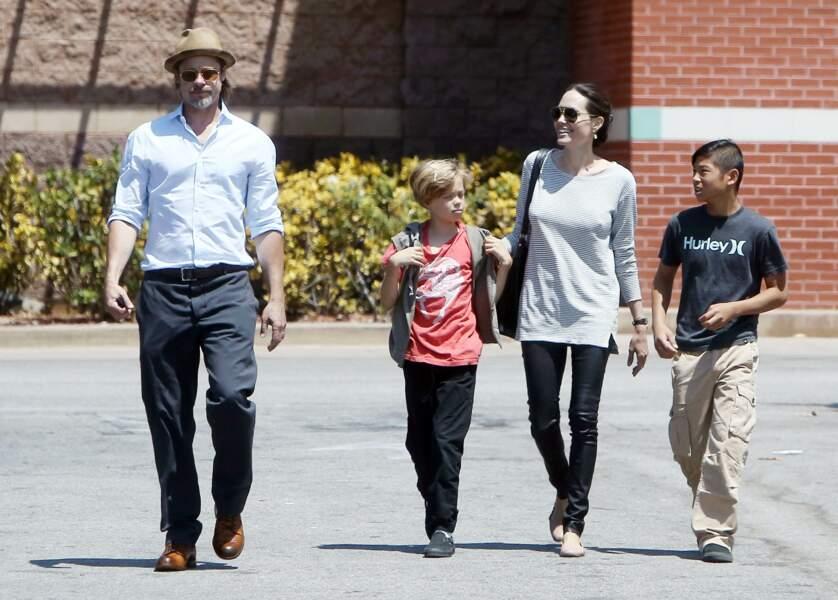 Shiloh Jolie-Pitt porte pour second prénom Nouvel, en hommage à l'architecte Jean Nouvel, dont Brad Pitt est fan