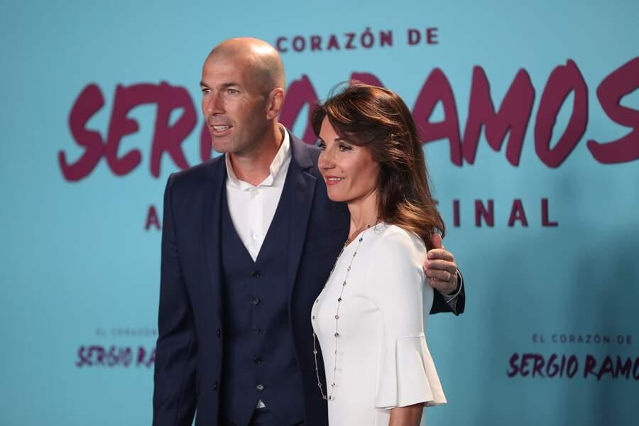 Zinedine Zidane et sa femme Véronique : un couple très stylé et coordonné