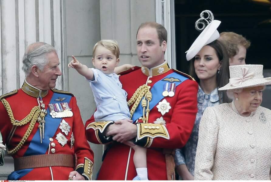 Prince George, juste avant ses 2 ans (juin 2015, à Londres)