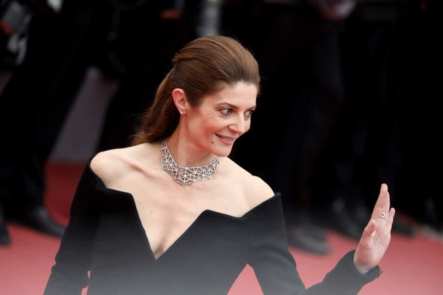 Chiara Mastroianni - Montée des marches du film «Plaire, aimer et courir vite