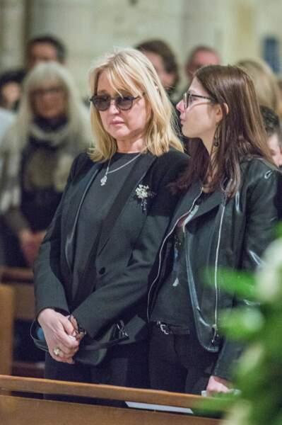 Natala Rivers aux obsèques de Dick Rivers
