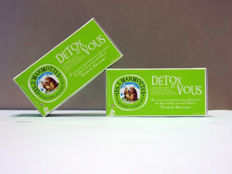 Tisane Détox Les 2 Marmottes