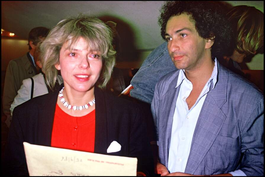 France Gall et Michel Berger au théâtre à Paris