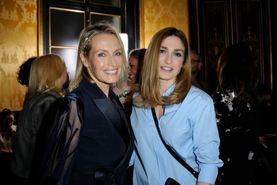 Avec Estelle Lefébure