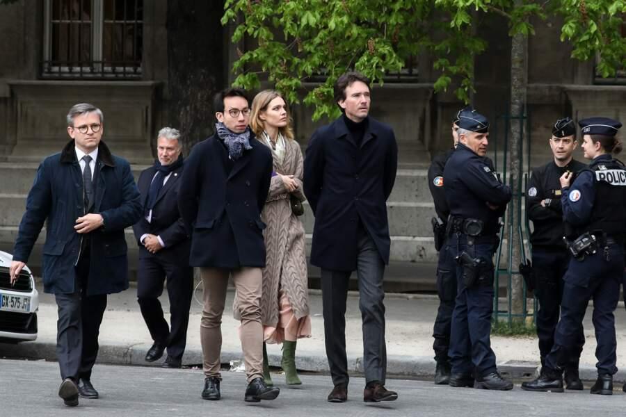 Natalia Vodianova et Antoine Arnault se sont rendus à Notre-Dame de Paris, moins de 24 heures après l'incendie
