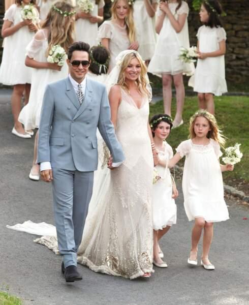 même s'ils ne sont plus ensemble, Jamie Hince était un marié chic et cool le jour de son mariage avec Kate Moss