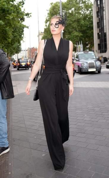 Kitty Spencer était en effet conviée à un bal masqué à Londres