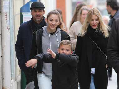 Patrick Dempsey, en vacances à Paris avec sa famille