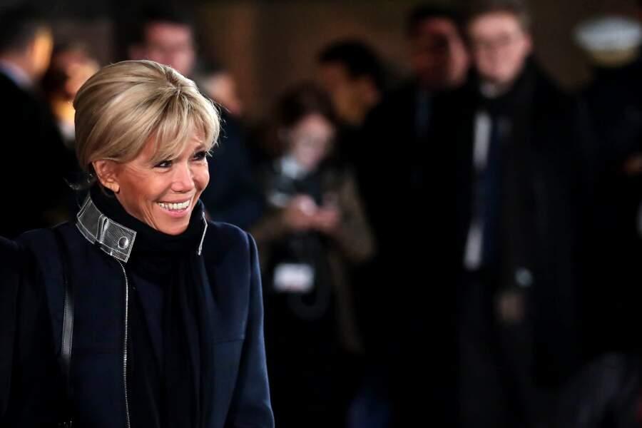 Pour le centenaire de l'armistice de la Première Guerre mondiale, Brigitte Macron a ressorti un manteau bien connu.