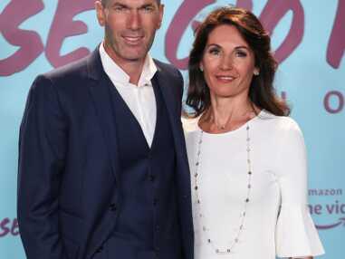 PHOTOS - Zinedine Zidane et sa femme Véronique très élégants et assortis pour une soirée à Madrid