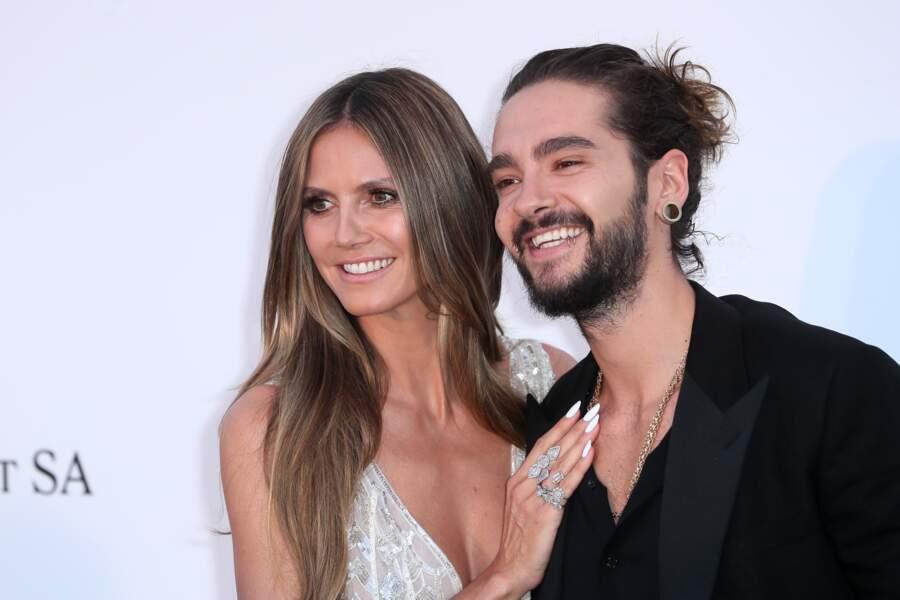 Heidi Klum et son compagnon Tom Kaulitz