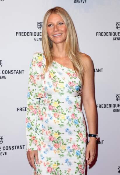 Les cheveux longs et lisses de Gwyneth Paltrow.