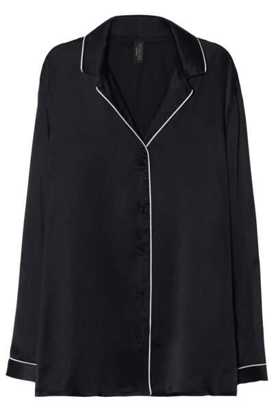Chemise de pyjama en soie, Intimissimi, 79,90 € (intimissimi.com).