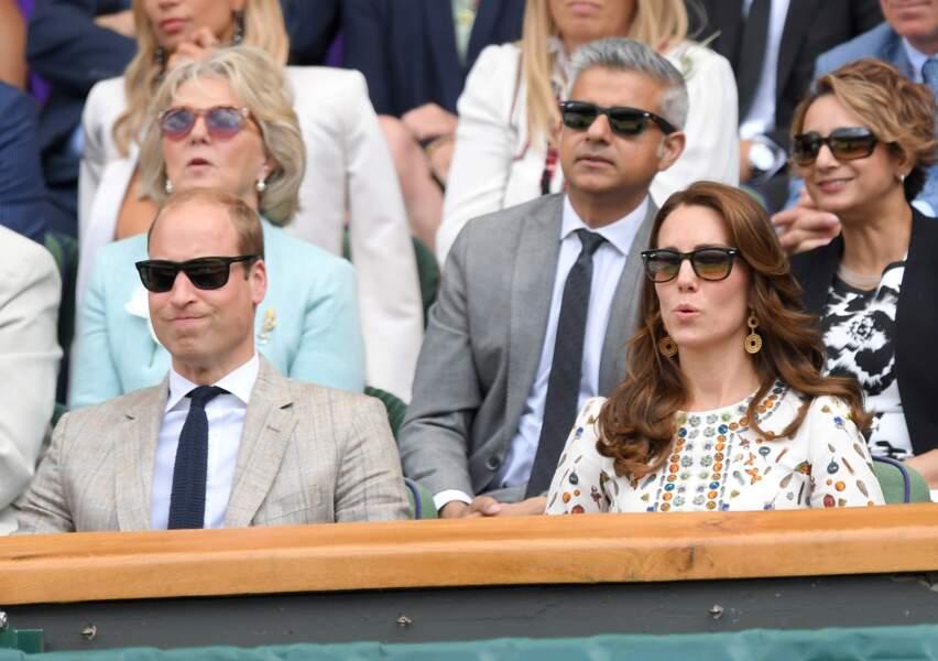 Princesse Kate sublime en Alexander McQueen pour la finale de Wimbledon