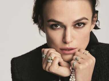 Keira Knightley, égérie Chanel pour la ligne Coco Crush